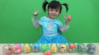 Surprise Eggs Opening Toys – Trò Chơi Bóc Trứng Bất Ngờ ❤ Anan ToysReview TV ❤