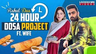 DOSA   South India meets North India   From @Kabita's Kitchen to Dua's Kitchen ft. Wife #rahuldua