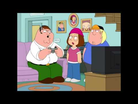 Family guy peter plays xbox 360 Call Of Duty