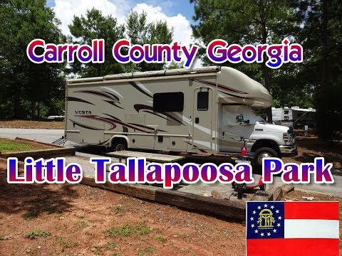 RV Camping At Little Tallapoosa Park Abilene Georgia | Carroll County Campgrounds