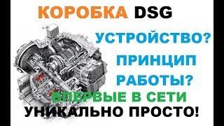 видео Коробка передач DSG: разновидности, устройство и принцип работы