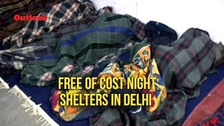 Cold wave grips delhi, night shelters come to rescue of homeless