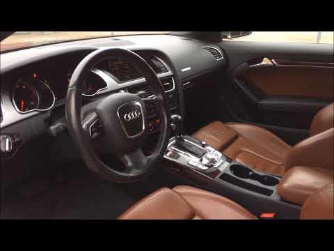 Audi A5 Coupé 3.2 FSI V6 Multitronic 265 hk 2008 start up