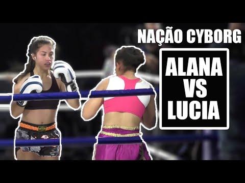 Nação Cyborg Fight Night 1: Colombo Brasil Djulia Alana Vs Ana Lucia (K1 Kickboxing)