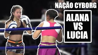Nação Cyborg Fight Night 1: Colombo Brasil Djulia Alana Vs Ana Lucia (K1 Kickboxing)