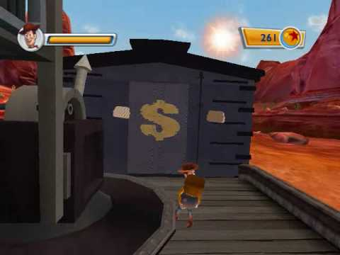 Toy Story 3 game PC part 1 Level 1 Train Rescue |