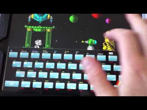 ZX Spectrum Exolon On IPad.