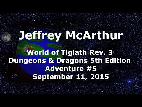 World of Tiglath Campaign – Rev 3 – Adventure #5