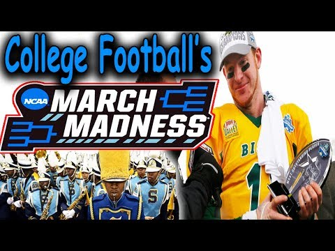 College Football's 24 TEAM PLAYOFF You've Never Heard Of!!! College football's March Madness