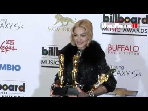 Madonna Billboard Music Awards 2013 Backstage Pop Queen