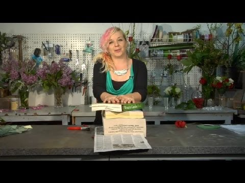 How To Press Flowers Roses Floral Tips Ideas Youtube
