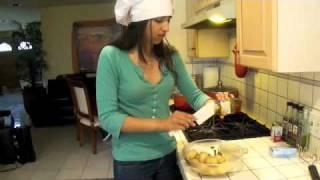 Creamy Pesto Mashed Potatoes