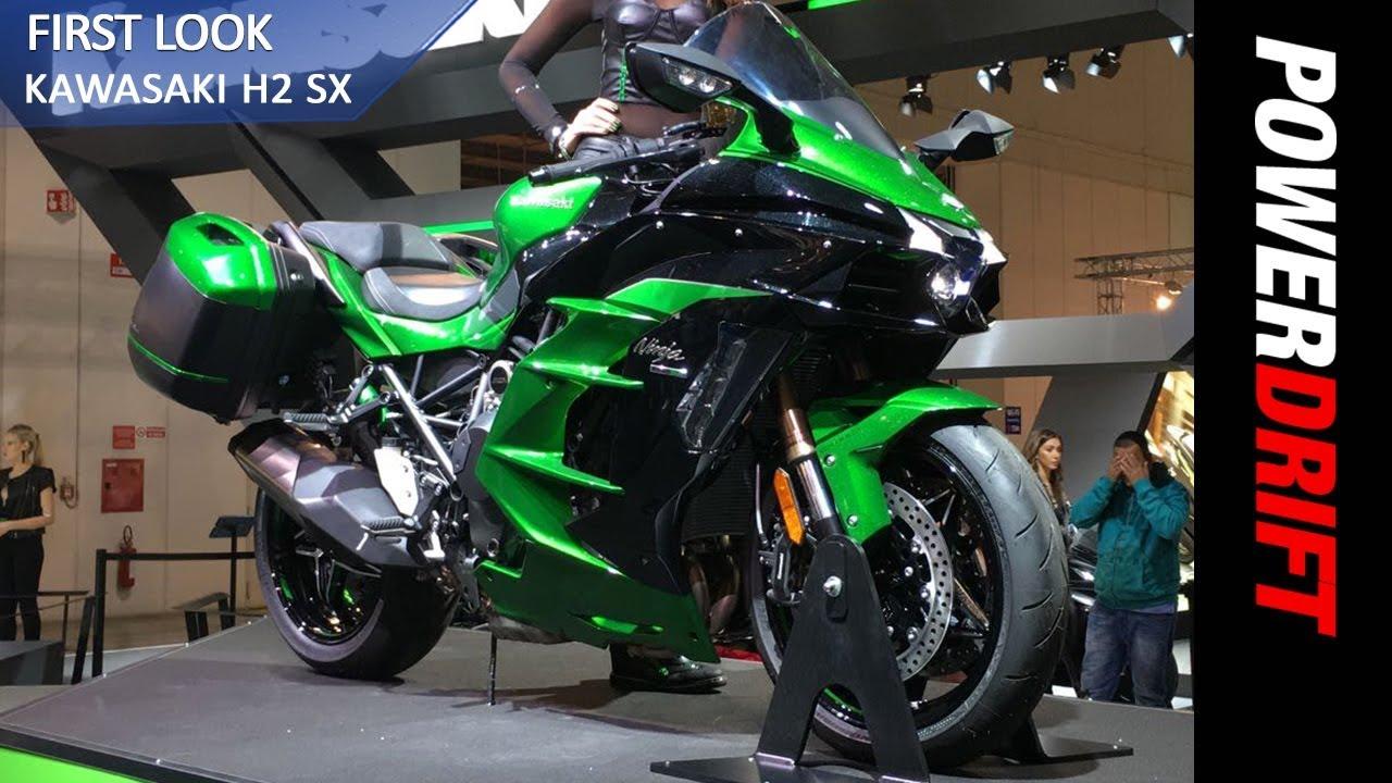 2018 Kawasaki Ninja H2 SX EICMA 2017 PowerDrift