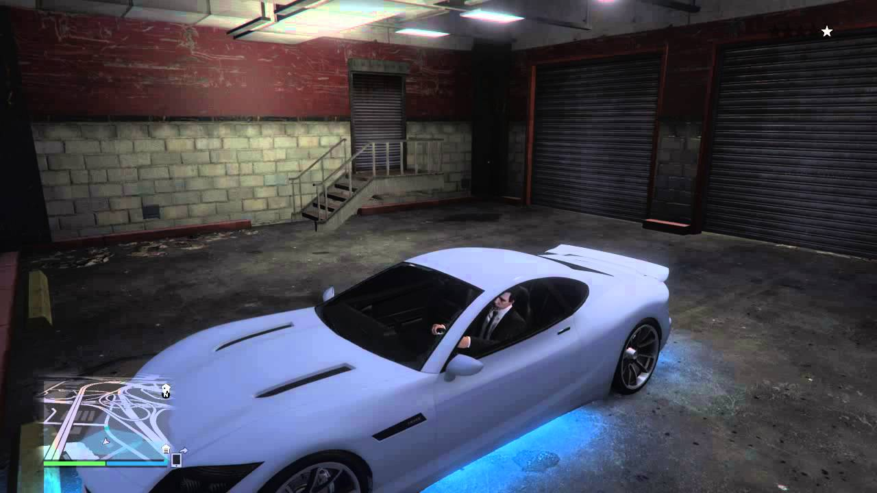 gta online secret huge garage next gen youtube. Black Bedroom Furniture Sets. Home Design Ideas