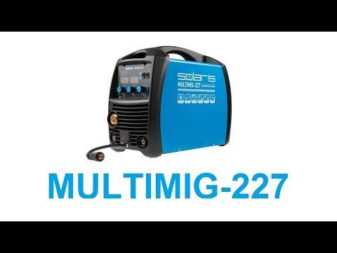 Solaris MULTIMIG-227: Обзор лучшего полуавтомата