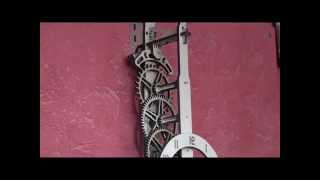 Brian Law's Woodenclocks - Clock 21 - Snap Together