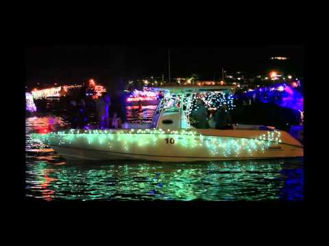 Christiansted Holiday Boat-parade 2014, St. Croix U S Virgin Islands
