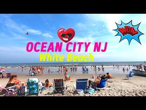 BEACH DAY AT OCEAN CITY NJ