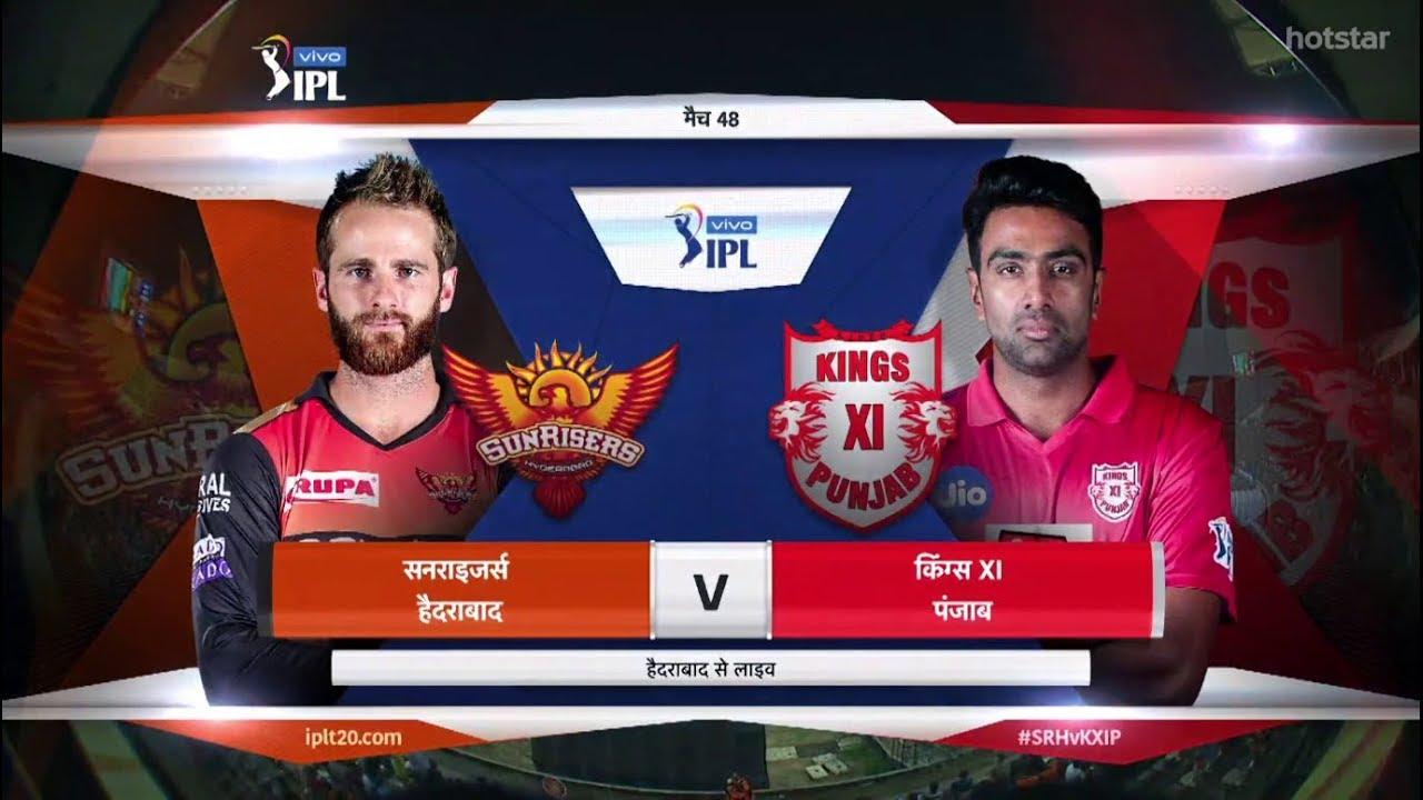 Srh Vs Kxip Highlights Match 48 Ipl 2019 Ipl Kxip Vs Srh Hyderabad Vs Punjab 29 April 2019 Youtube