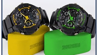review s shock 2016 new skmei watch