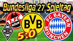 Fussball Bundesliga 27 Spieltag Prognose & Tipp