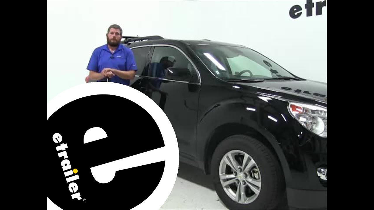 Delightful Review Of The Rhino Rack Roof Rack On A 2015 Chevrolet Equinox    Etrailer.com