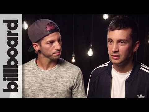 Twenty One Pilots Reveal The Status of Their New Album | iHeartRadio Fest 2016