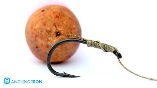 How to tie a Hair rig - Carp rigs - By Angling Iron