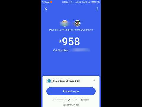 How To Use Google Tez App To Pay Electricity Bill