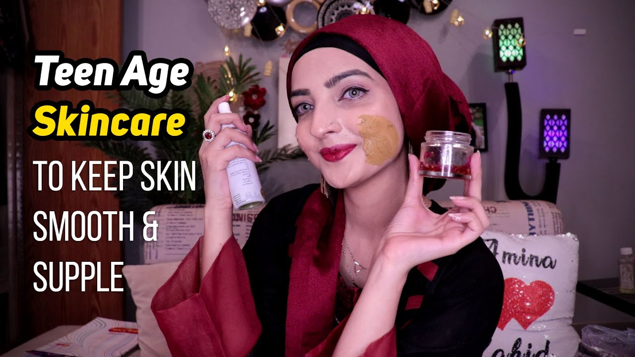 DIY SKINCARE for TEENAGERS to GET CLEAR & GLOWING SKIN