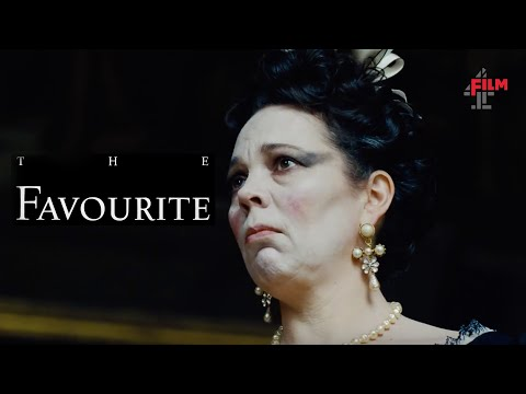Olivia Colman, Emma Stone and Rachel Weisz in The Favourite  Film4