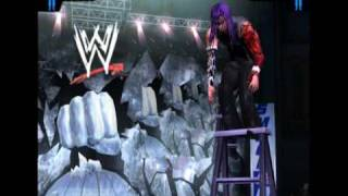 Jeff Hardy's Swanton Bomb from Ladder in Smackdown Here Comes The Pain