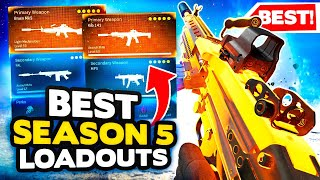 *NEW* Warzone Season 5 T๐p 10 BEST LOADOUT + Class Setups (Modern Warfare Warzone Tips)
