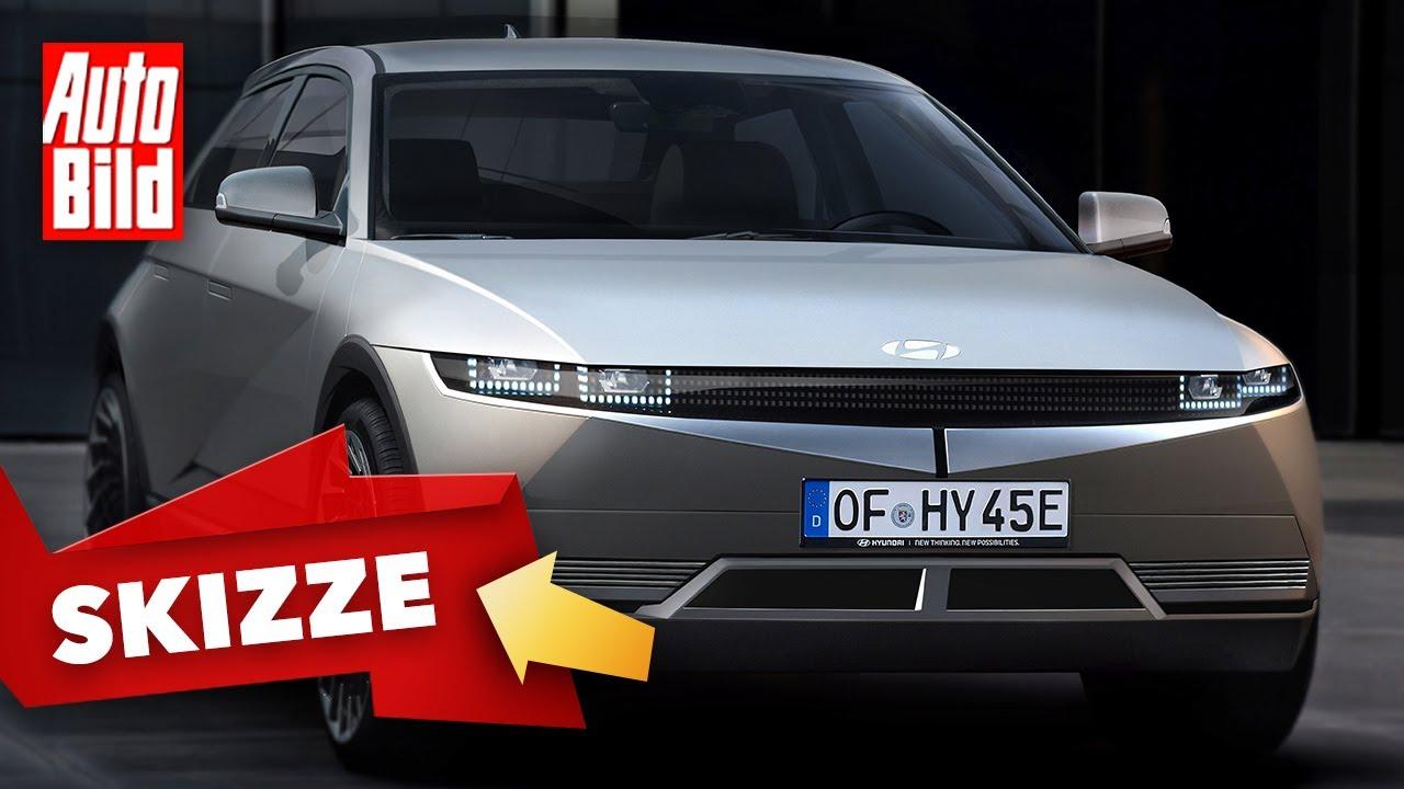 Hyundai 45 (2021): Neuvorstellung - Skizze - Elektro - Info