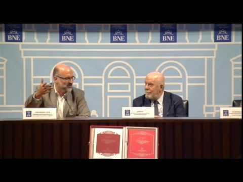 Presentación Autógrafos de Cervantes -Biblioteca Nacional de España, BNE