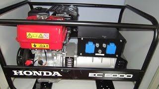 Хонда/Honda EC 5000 однофазный бензиновый генератор(, 2016-04-19T10:55:27.000Z)