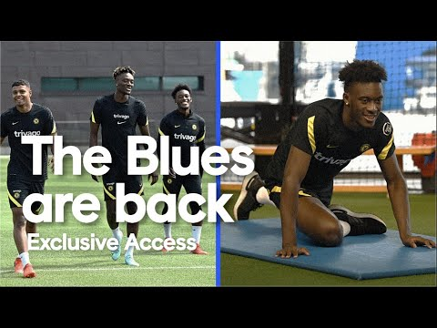 The Blues Are Back! Exclusive Access as Pulisic, Ziyech, Hudson-Odoi & More Return to Cobham!