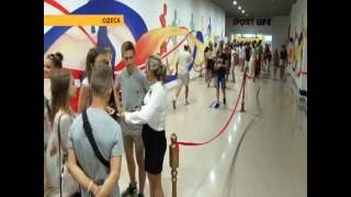 Открытие третьего клуба «Sport Life» в Одессе СТБ