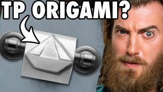 We Try Toilet Paper Origami