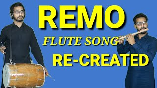 Flute song of Remo Fernandes re-created#Jktechnics