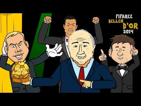 🌟Ballon d'Or 2014-2015 RAP BATTLE🌟 (Winner Cristiano Ronaldo vs Messi vs Neuer) FIFA Award Cartoon