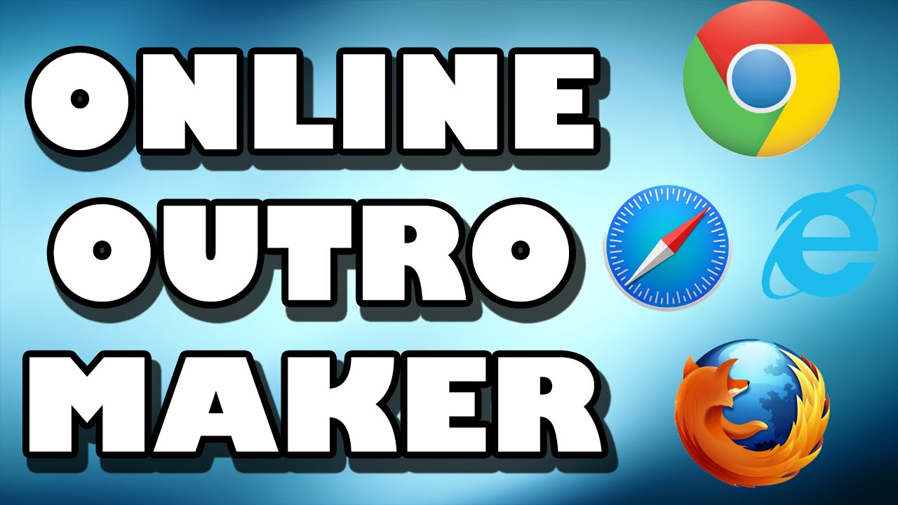 BEST FREE ONLINE Outro Pixlr Templates WITHOUT SONY VEGAS, AFTER EFFECTS,  PHOTOSHOP, CINEMA 4D