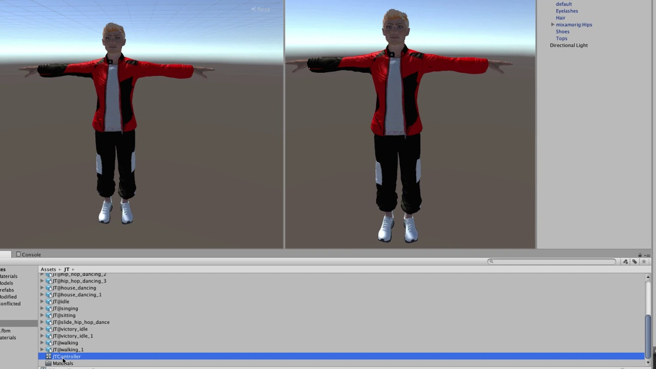 Creating & Animating a 3D Character with Fuse, Mixamo & Unity Part 4:  Importing to Unity