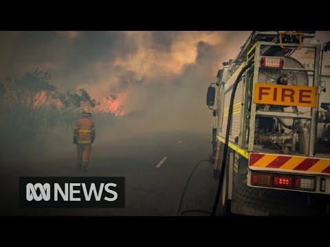 Motorists Stranded In Western Australia As Roads Cut Off By Fires | ABC News