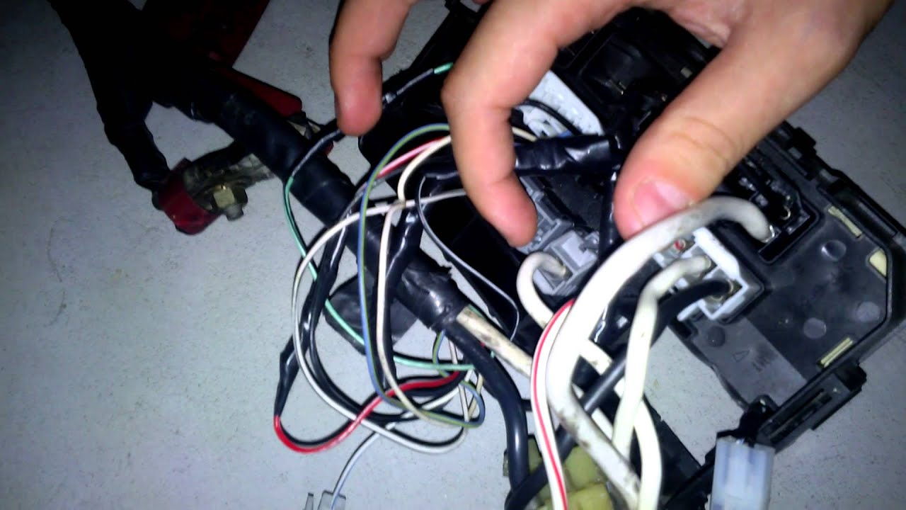 maxresdefault ᴴᴰcorolla e11 4age 20v bt swap guide [part 4 1b wiring harness 4agze wiring harness at creativeand.co
