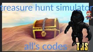 Roblox: Treasure Hunting Simulator All codes