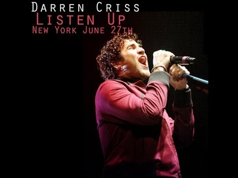 Darren Criss Listen Up Tour