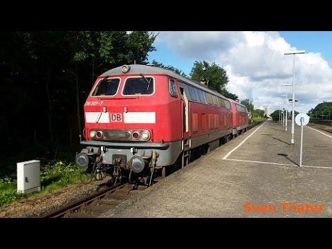 Fst-Mitfahrt/Überführung - Niebüll - Hamburg (BR 218) / Teil 1