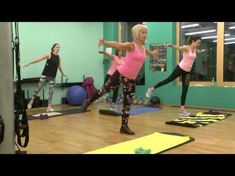Rücken und Bauch Übungen, Back und Core Workout.