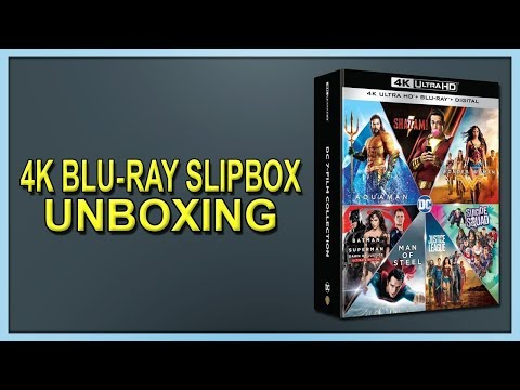 DC 7-Film Collection 4K+2D Blu-ray Slipbox Unboxing